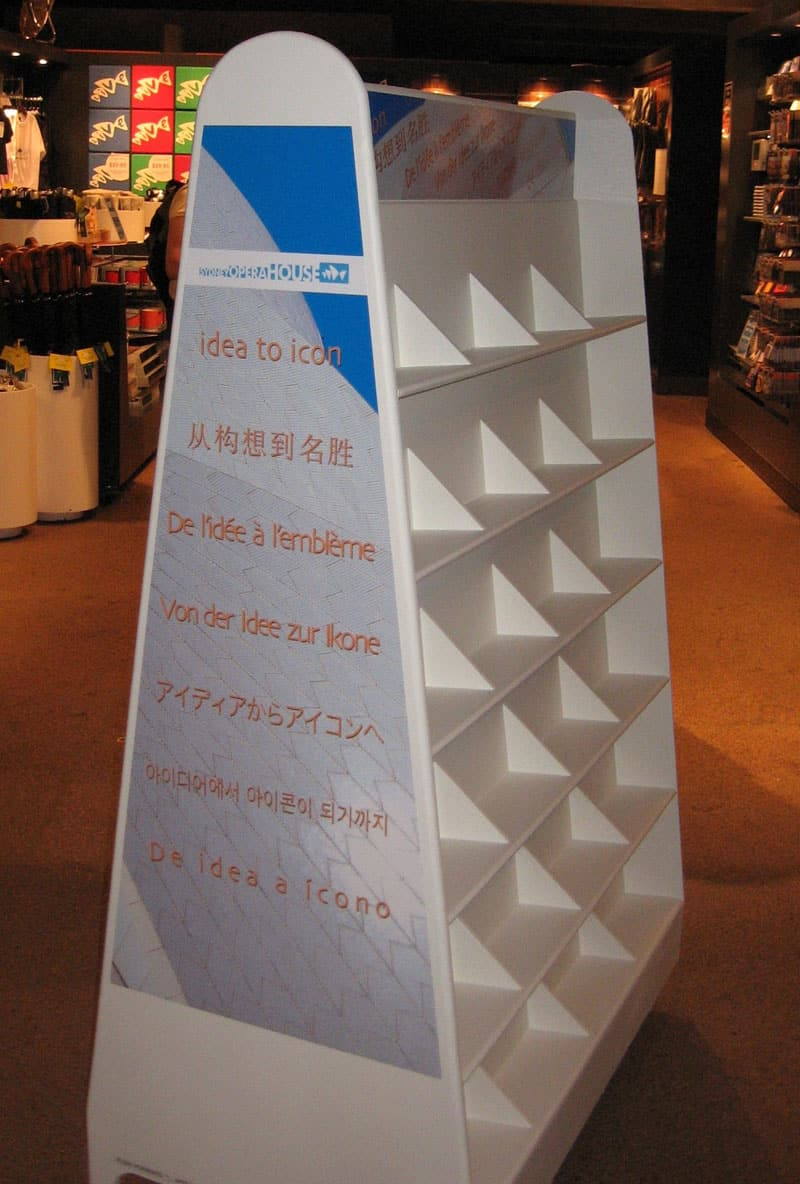 Syndey Opera House Display Stand