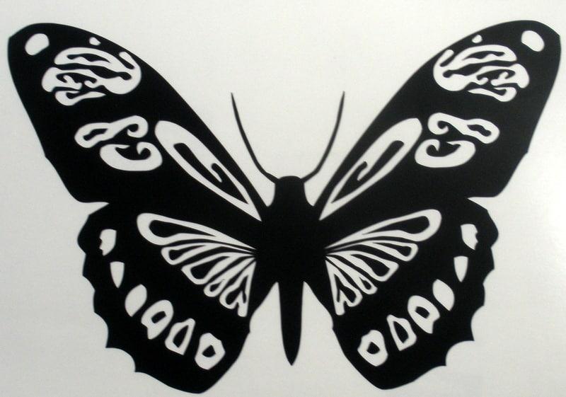 Butterflyvinylcutdecalsticker The Art Of Stickers - Butterfly vinyl decals