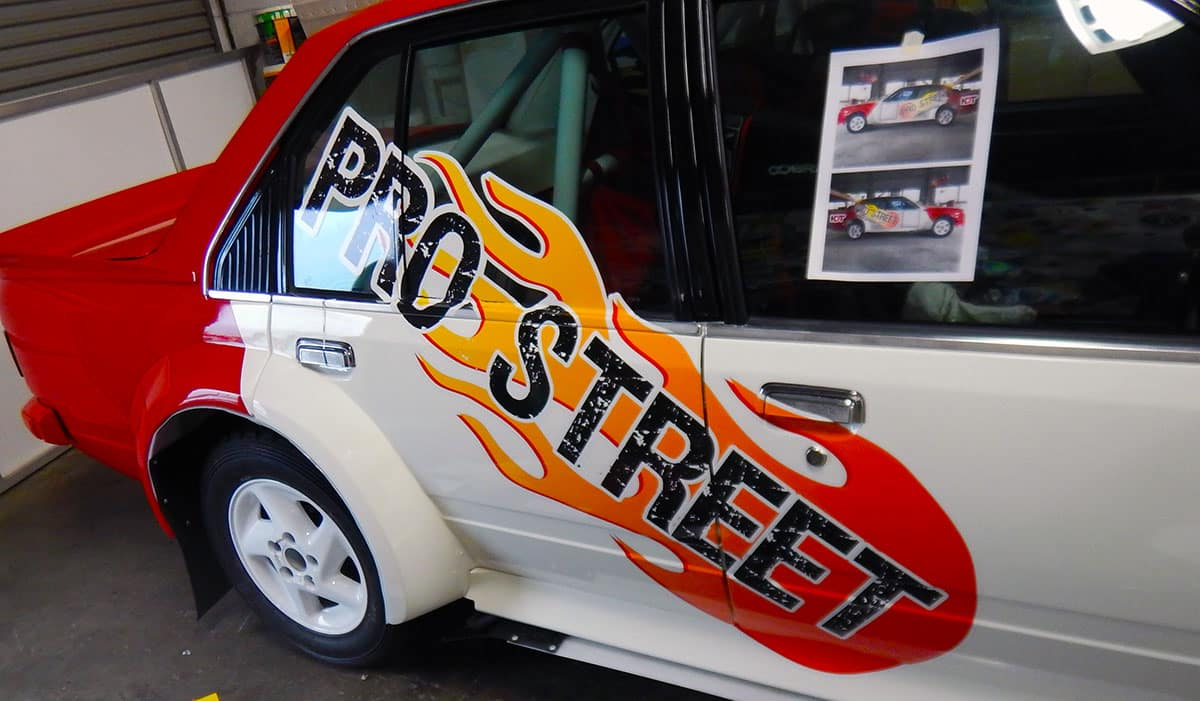 Car design sticker rally - Vk Commodore Rally Car Prostreet Paint And Panel Oztec Suspension 1
