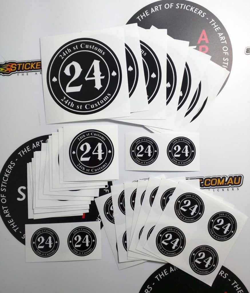 Printed Stickers Archives The Art Of Stickers - Custom vinyl decals brisbane