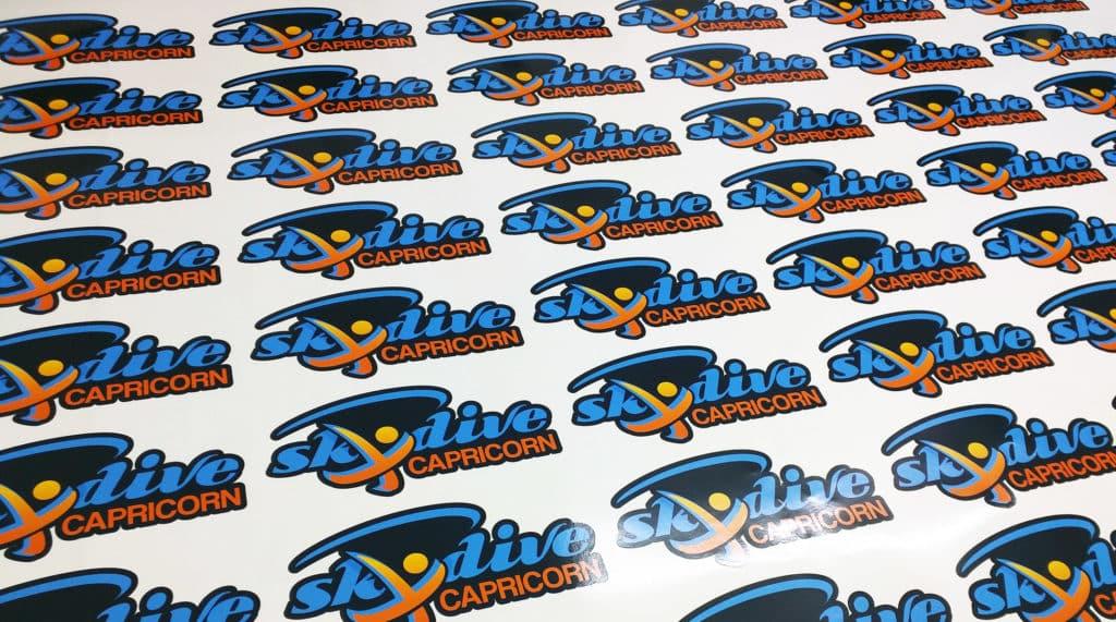 2016-06-skydive-capricorn-custom-printed-contour-cut-stickers-rockhampton-queensland