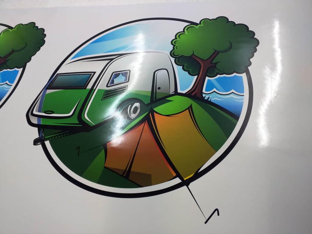 Cararest Kilburn South Australia Custom Logo Sticker