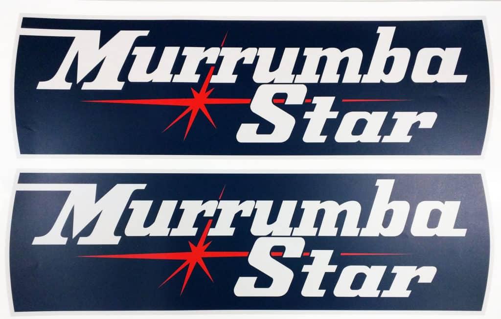 2016-08-matte-laminated-reproduction-caravan-stickers-murrumba-star-mt-archer-queensland