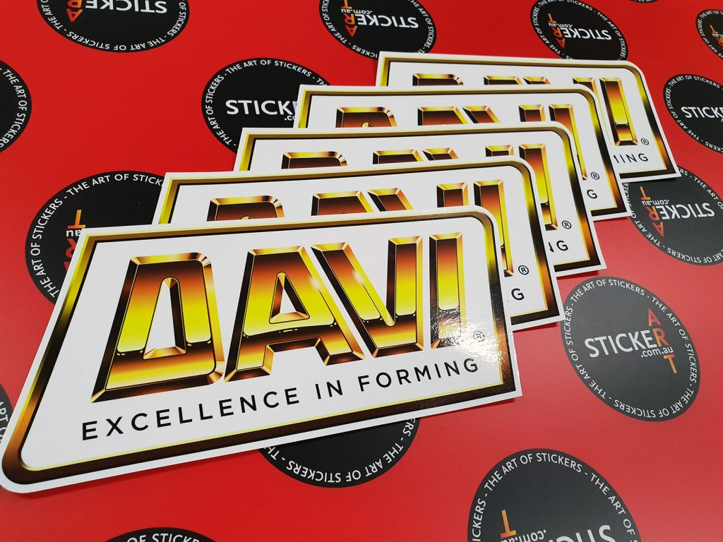 Davi Excellence in Forming Custom Sticker