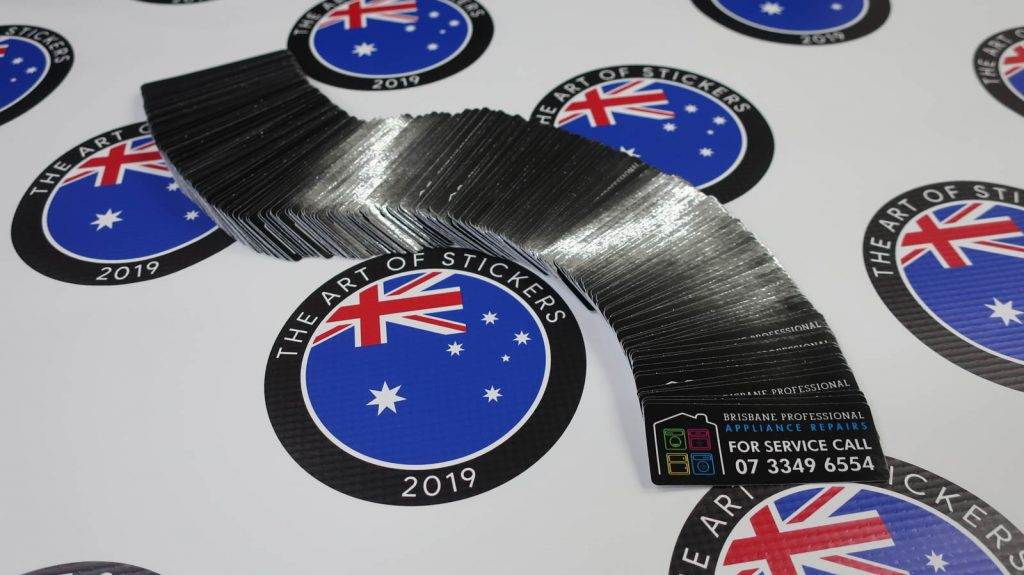 Stickers for Brisbane Professional Appliance Repairs. Make stickers work for you and get a great ROI