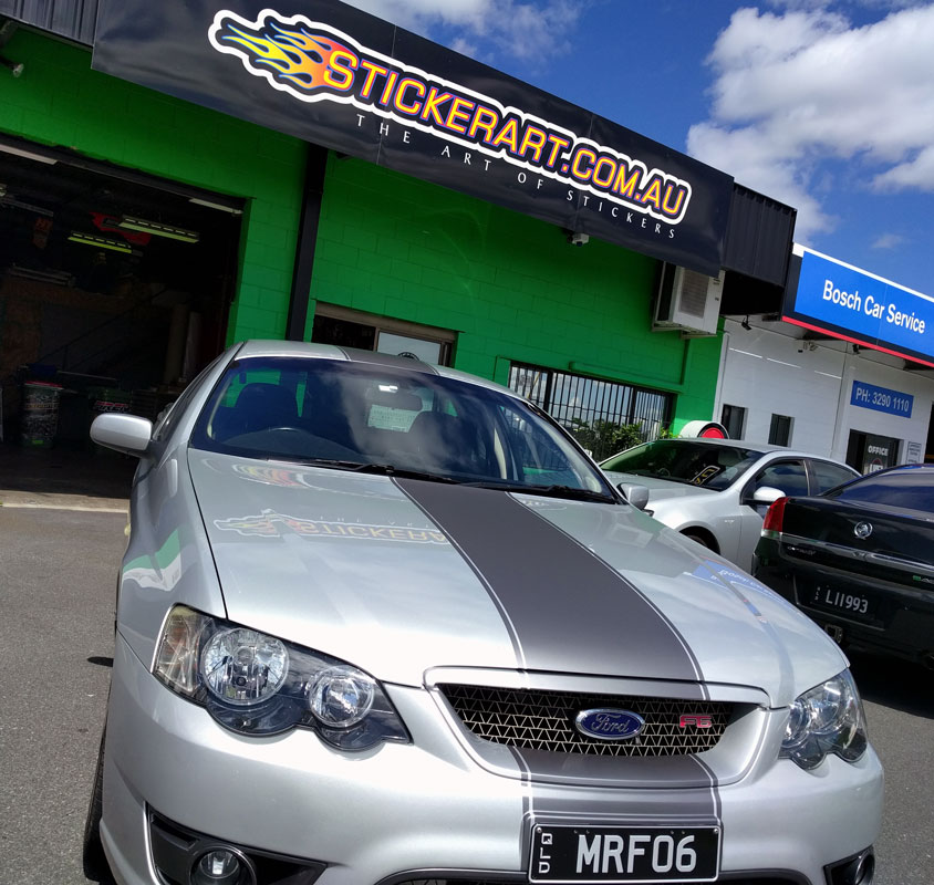 e0c73e338f63d1 Custom Car Stripes And Vehicle Wrapping - Brisbane
