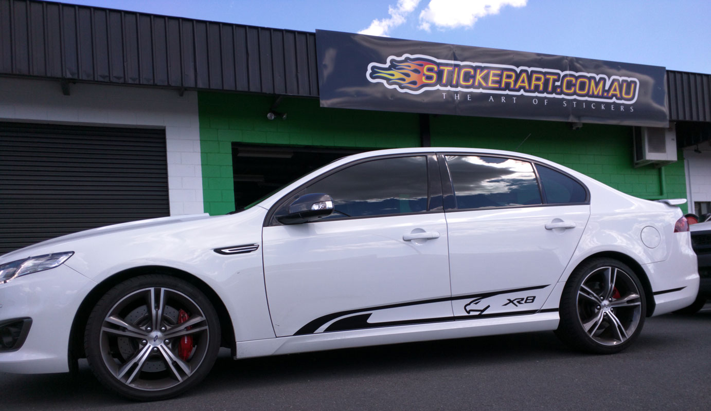 Custom Car Stripes And Vehicle Wrapping Brisbane Australia - Custom vinyl decals brisbane
