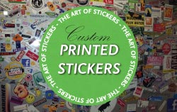 Custom Printed Stickers from The Art of Stickers