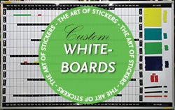 Custom Whiteboards from The Art of Stickers