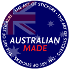 Our stickers and products are Australian Made