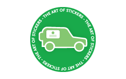 Custom Magnetic Vehicle Signs from The Art of Stickers