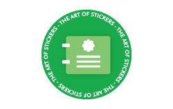 Pre-designed stickers from The Art of Stickers