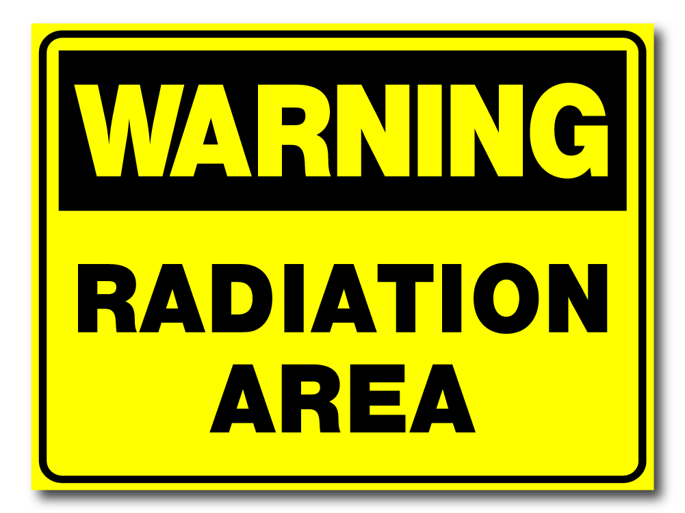Warning - Radiation Area