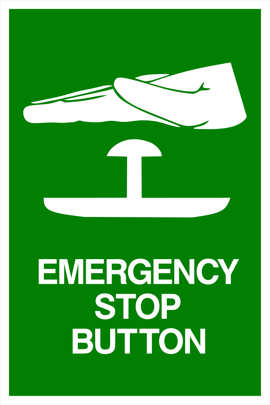 Emergency Stop Button Symbol