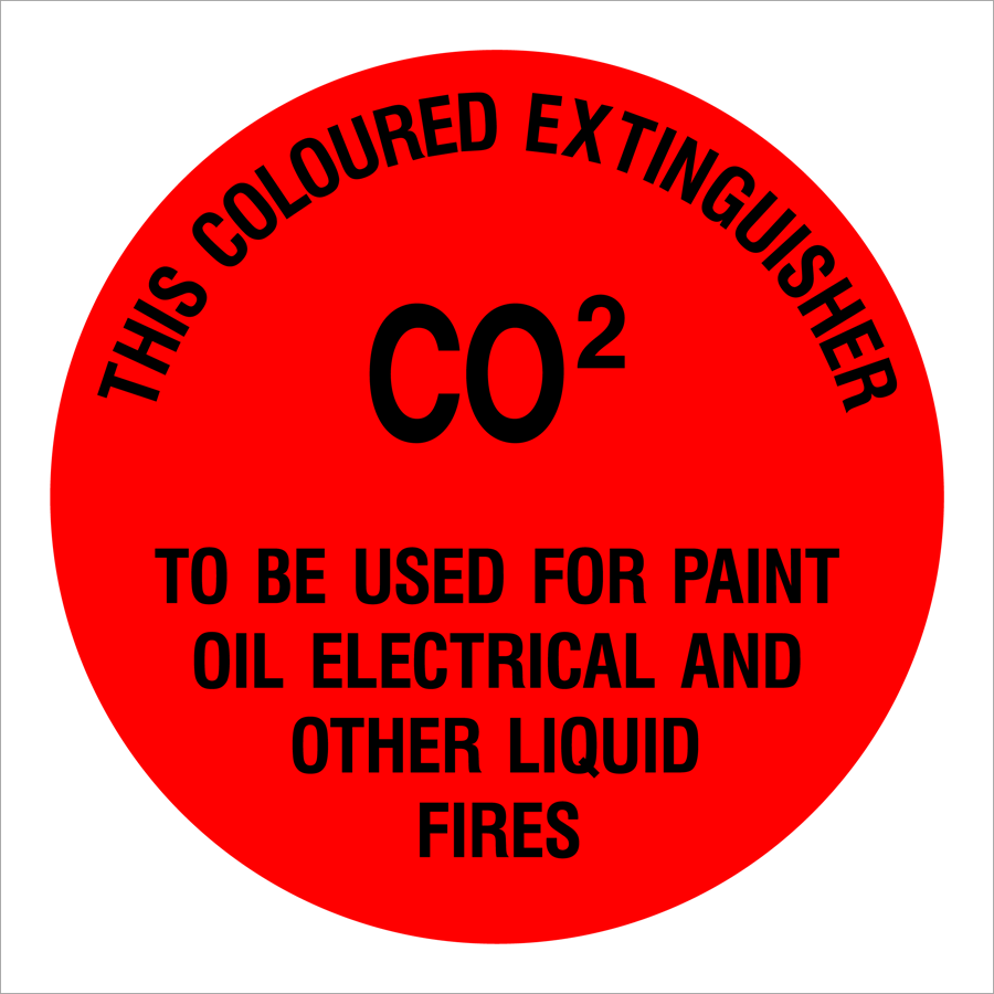 CO2 Fire Extinguisher Paint Oil Electrical Other Liquid Fires