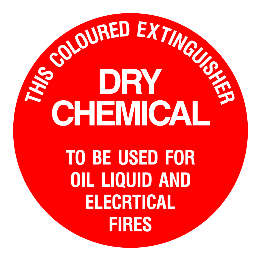 Dry Chemical Extinguisher Dry Chemical Oil Liquid Electrical Fire