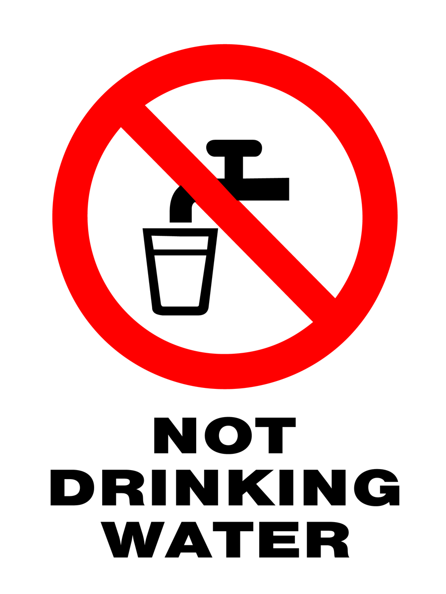 Prohibition - Not Drinking Water