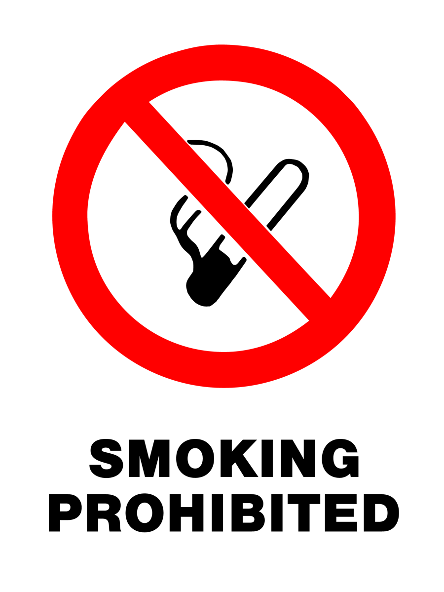 Prohibition - Smoking Prohibited