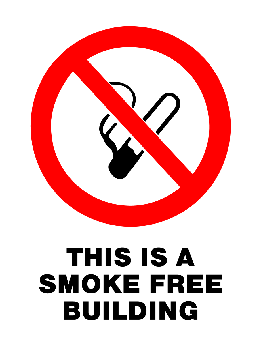 Prohibition - This Is A Smoke Free Building