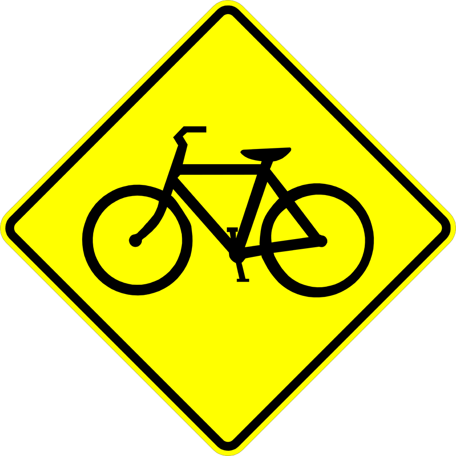 Traffic Signs - Cyclists Ahead