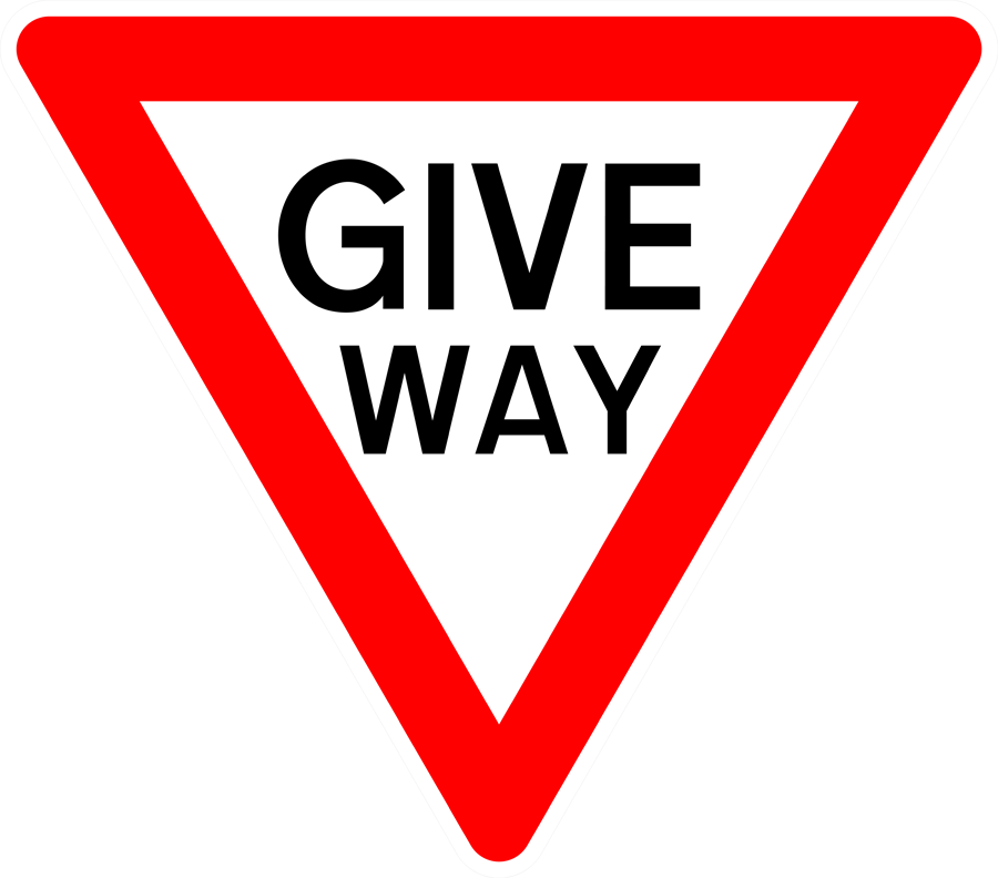 Traffic Signs - Give Way