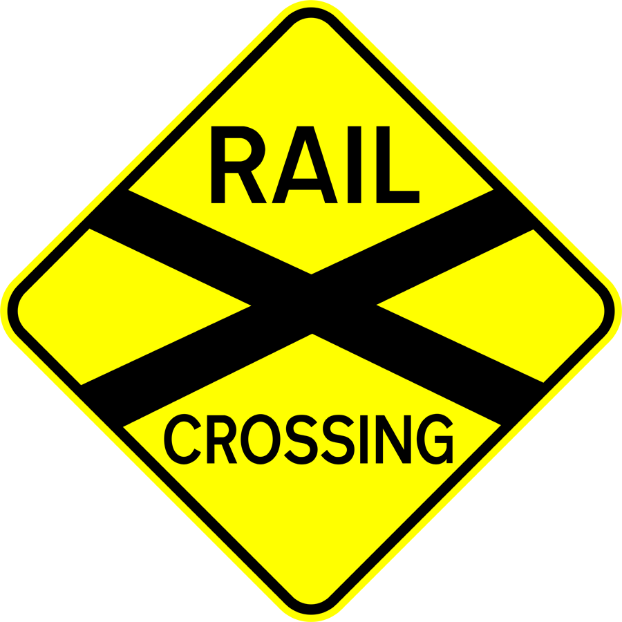Traffic Signs - Rail Crossing