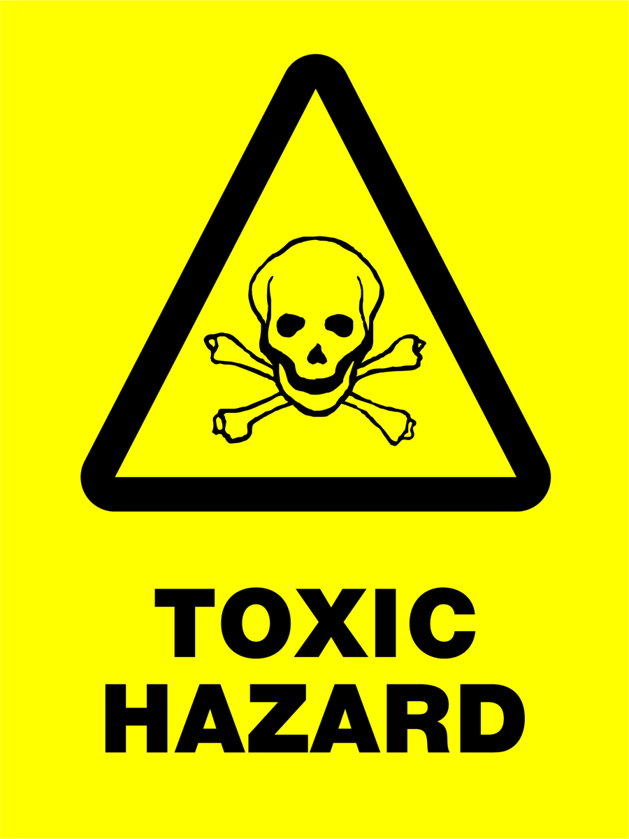 Warning - Toxic Hazard General