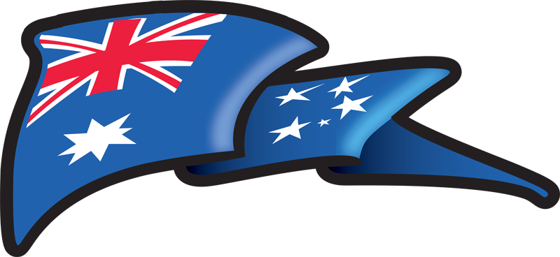 Aussie Flag Wave
