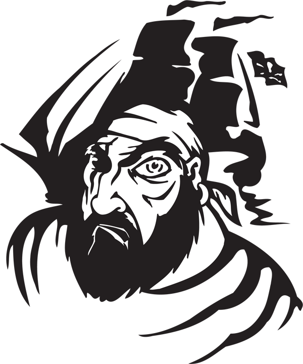 Pirate Sticker #1