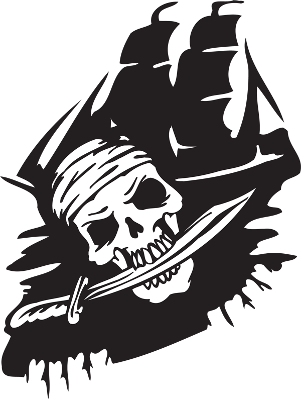Pirate Sticker #3
