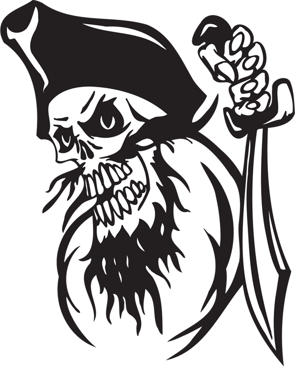 Pirate Sticker #4