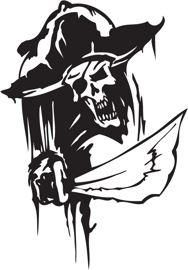 Pirate Sticker #5