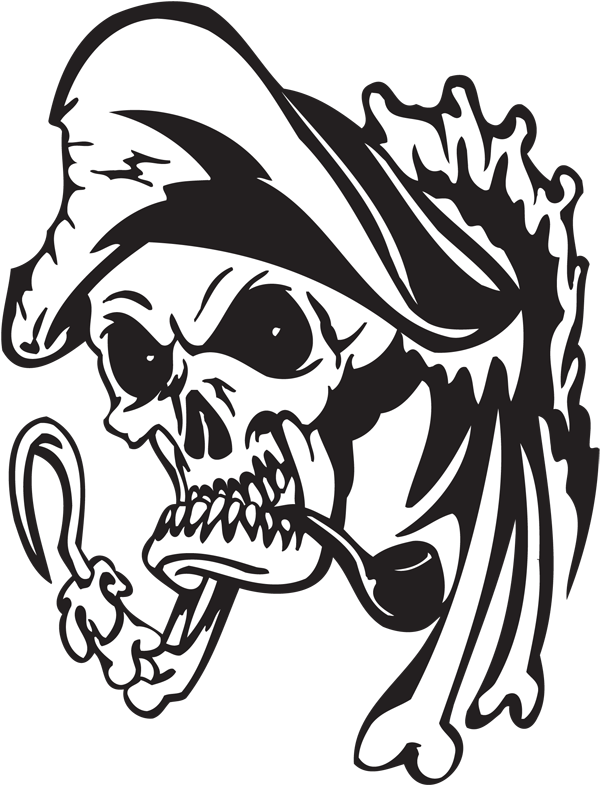 Pirate Sticker #6
