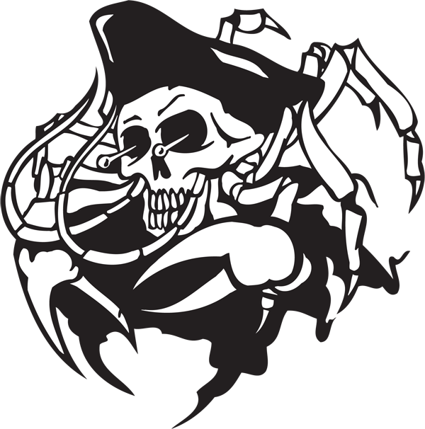 Pirate Sticker #8
