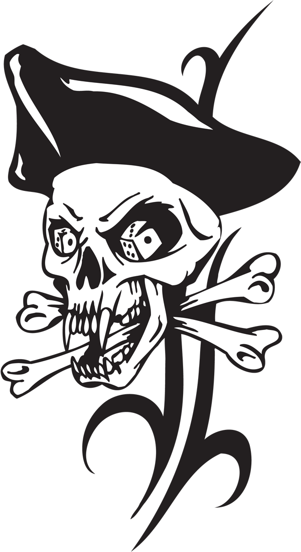 Pirate Sticker #10