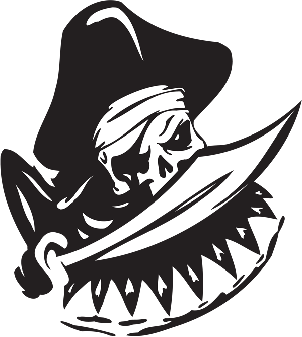 Pirate Sticker #16