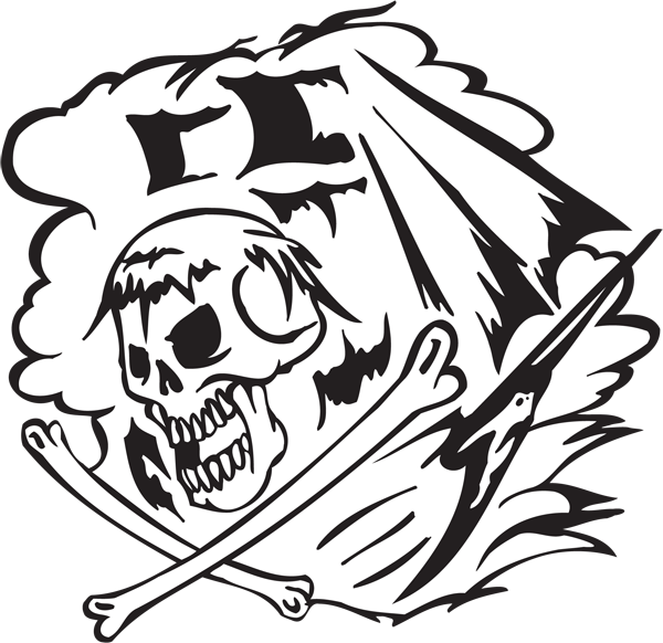 Pirate Sticker #18