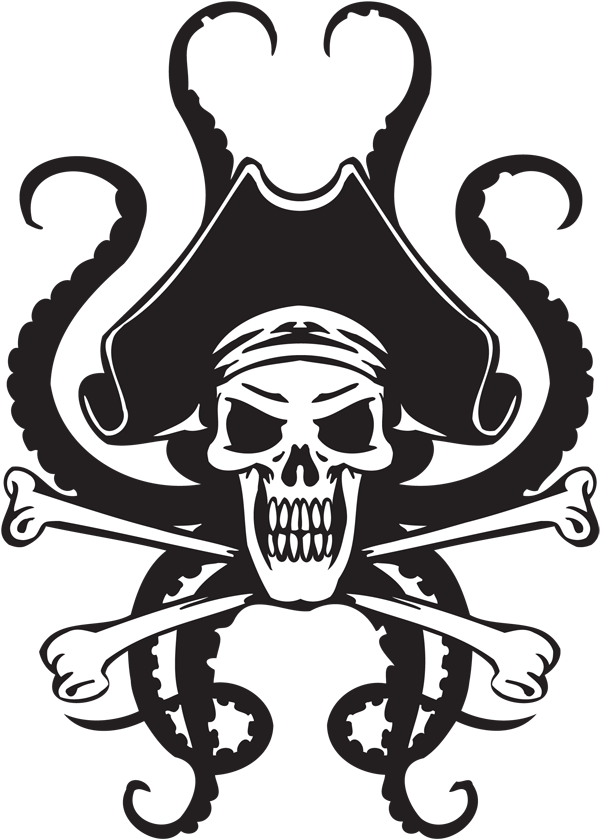 Pirate Sticker #24