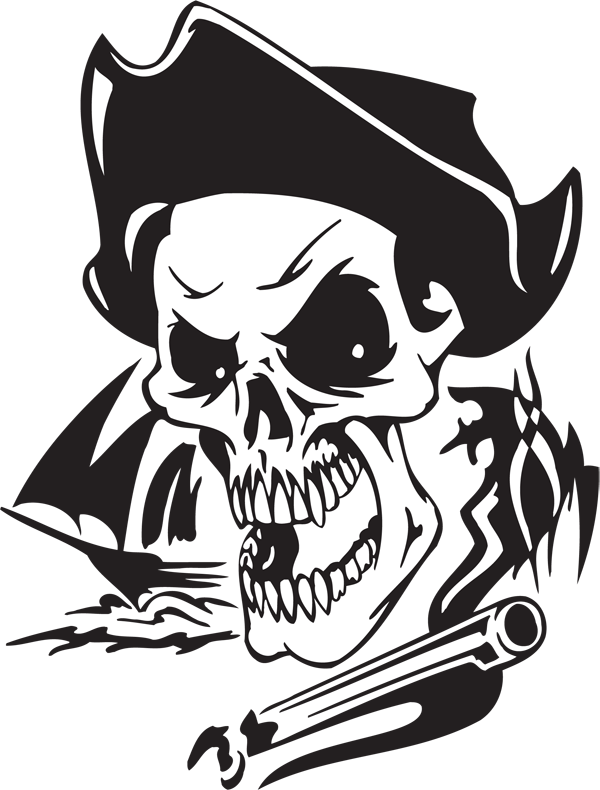 Pirate Sticker #25