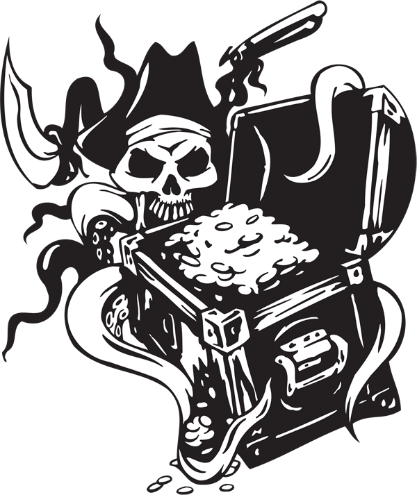 Pirate Sticker #28