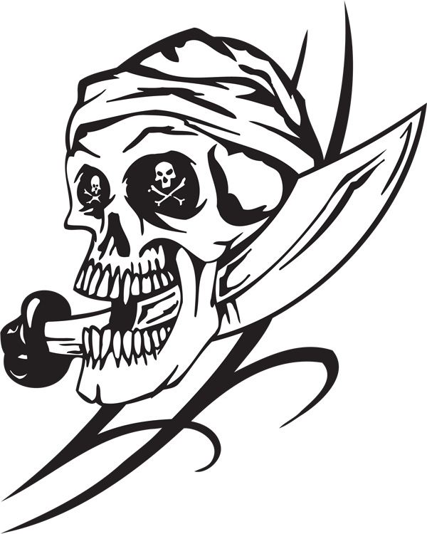 Pirate Sticker #29