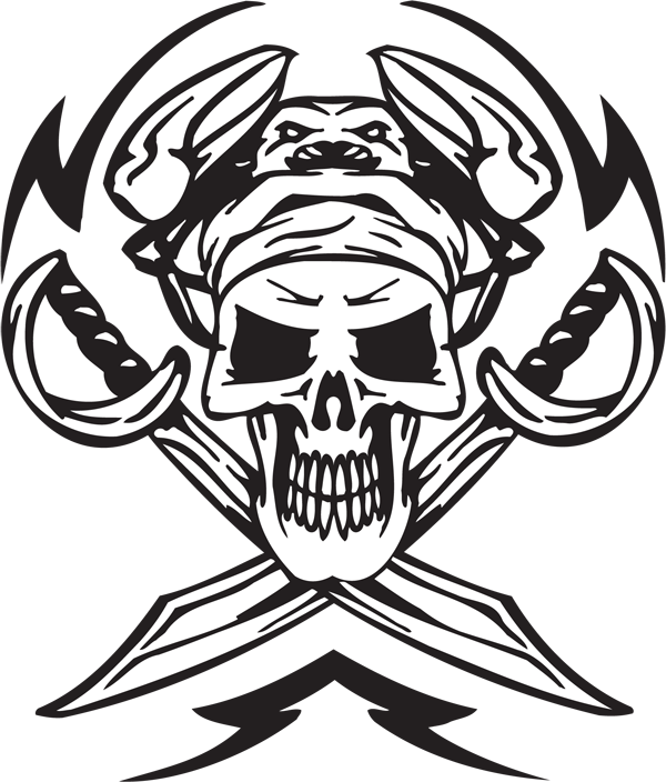 Pirate Sticker #32