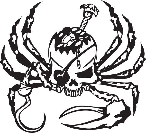 Pirate Sticker #33