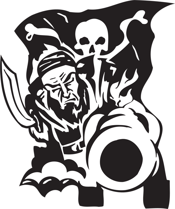 Pirate Sticker #35