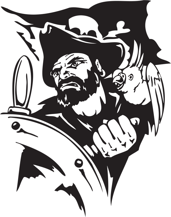 Pirate Sticker #37