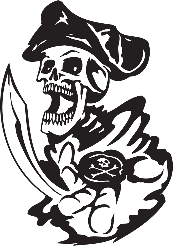 Pirate Sticker #40