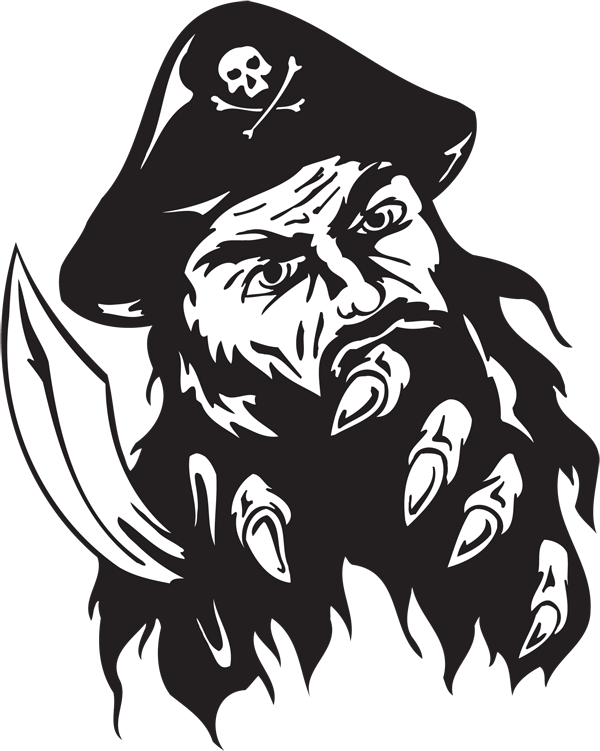 Pirate Sticker #41