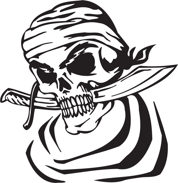 Pirate Sticker #42