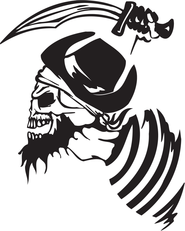 Pirate Sticker #44