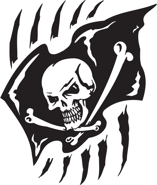 Pirate Sticker #46